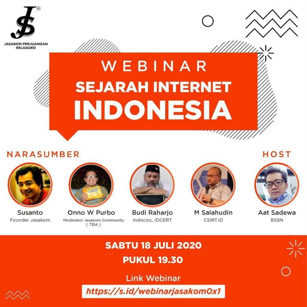 Webinar Sejarah Internet Indonesia